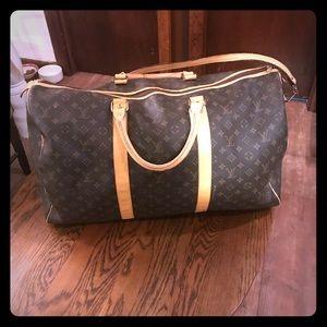 Authentic Louis Vuitton duffel bag